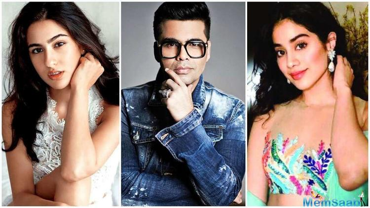 Filmmaker Karan Johar, who has produced both Janhvi Kapoor's debut Dhadak and Sara Ali Khan's second feature Simmba, says it is