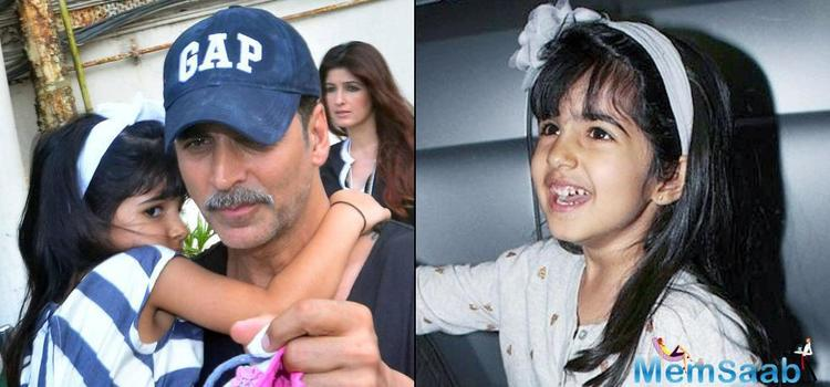 Nitara wants to watch her dad's 'Birdman' film, which is one of the most spoken-about films currently, and we hear Akshay will be taking her to watch the universal film very soon.