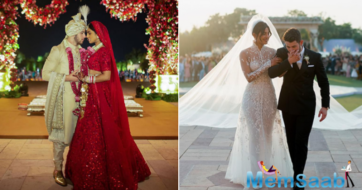"Glimpses from the ceremonies have been shared online by People.com. ""Every girl dreams of being a princess on her wedding day,"" Priyanka said in the magazine's cover story. ""But I never had a plan about what I wanted it to be."""