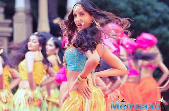 Nora Fatehi and Fnaire band's superb remake of iconic Bollywood track has taken the internet by a roll. The track first touched the 10 million milestone on YouTube and now it has crossed the huge numeral of 20 million.