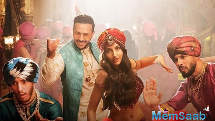 Nora Fatehi and Fnaire band's superb remake of iconic Bollywood track has taken the internet by a roll.