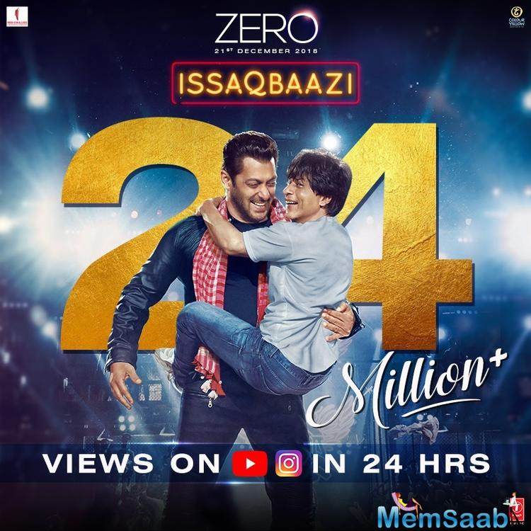 Issaqbaazi brings back the magic of Ajay-Atul's phenomenal music, Sukhwinder Singh and Divya Kumar's dynamic voice along with Irshad Kamil's high-spirited lyrics.
