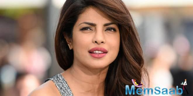 "According to the report in Hindustan Times, Priyanka has responded to the article saying she did not want to react to such ""random things""."
