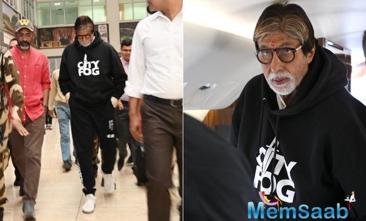 Superstar Amitabh Bachchan has started shooting for his next film Jhund on a non stop schedule in Nagpur.