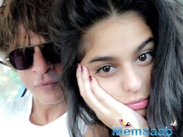 Recently the 'Raees' star revealed how Suhana helped him learn the lyrics of the song 'Mere Naam Tu' from his upcoming movie 'Zero'.