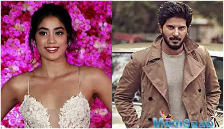 Reportedly, Malayalam actor Dulquer Salmaan will be Janhvi Kapoor's co-star in the biopic of air force pilot Gunjan Saxena, India's first female combat aviator who played a pivotal role during the 1999 Kargil war.