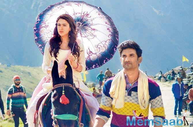 Abhishek Kapoor's directorial Kedarnath holds strong at the box office on a working Monday and mints Rs 4.25 crore.