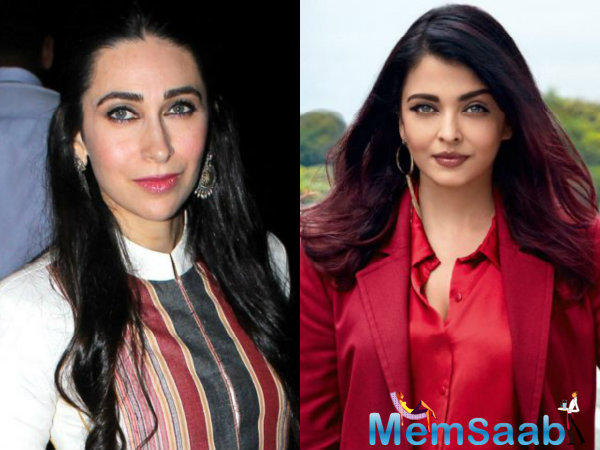 This was the first time that the two ladies had come face-to-face in all these years after Abhishek's breakup with Karisma.