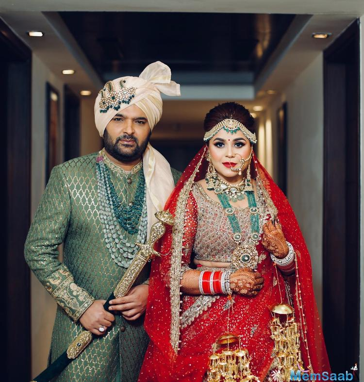 Kapil Sharma and Ginni Chatrath will host a wedding reception in Amritsar on December 14.