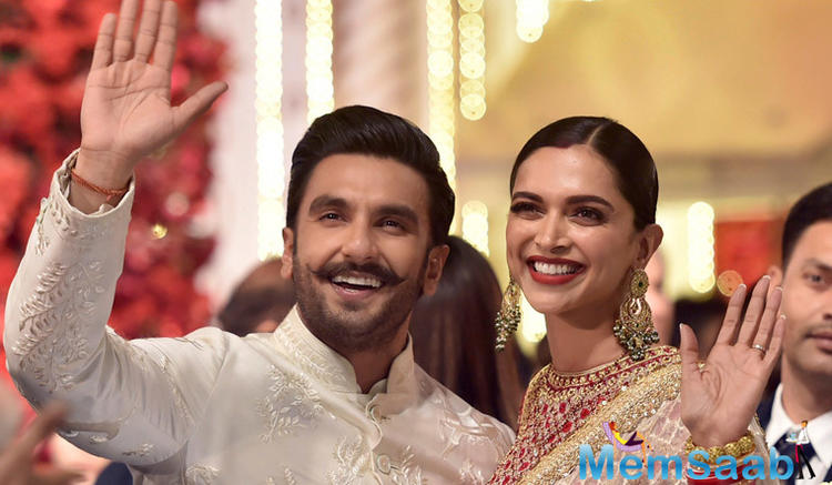 Deepika and Ranveer got married in Italy on November 14 and 15. The couple then hosted three receptions for their colleagues from the film industry, media, family and friends in Bengaluru and Mumbai.