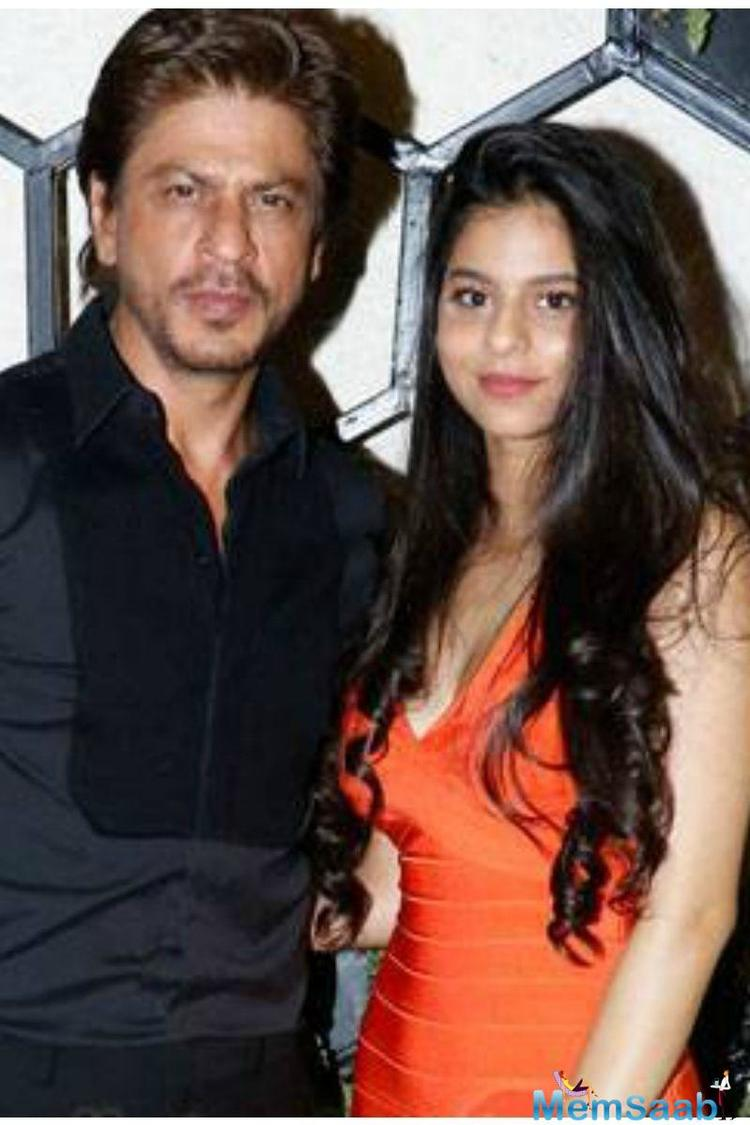 We met him recently and during the conversation he said that Suhana was working as Assistant Director in his forthcoming film Zero and that she has other chores on the sets too.
