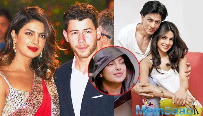 For whatever the reason, Shah Rukh Khan and Priyanka Chopra don't acknowledge each other even with a hello.
