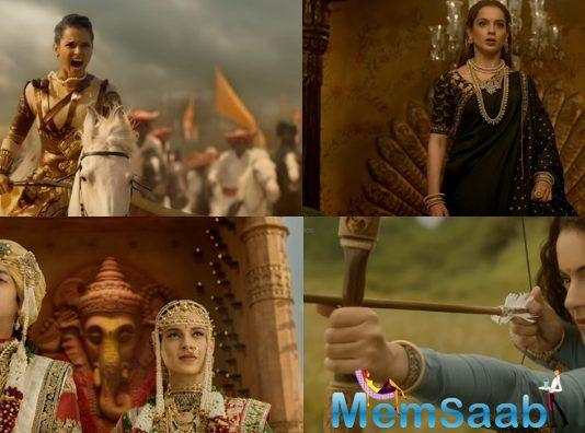The makers of Manikarnika: The Queen of Jhansi have finally released the much-awaited trailer. Kangana Ranaut will be seen playing the lead role in the period drama.
