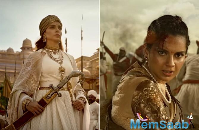 The trailer shows the heart-wrenching transformation of a spirited young girl named Manikarnika who becomes the fierce freedom fighter that we know as Rani Laxmibai.