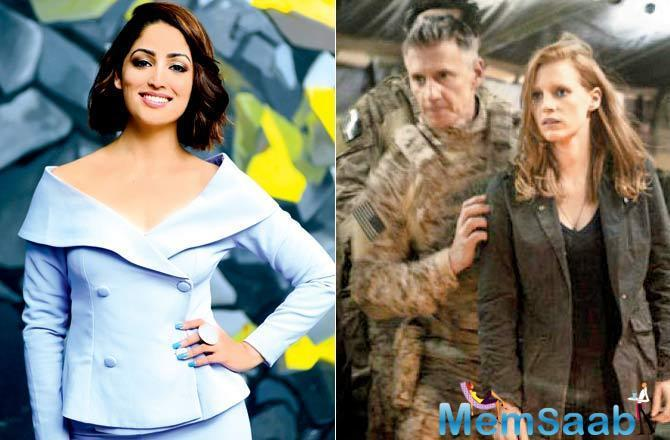 Set to feature as an intelligence officer in Aditya Dhar's Uri: The Surgical Strike, Yami Gautam drew inspiration from American actor Jessica Chastain, who essayed a similar role in Zero Dark Thirty (2012).