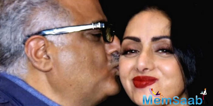 They say time is the best healer but filmmaker Boney Kapoor hasn't been able to come to terms with wife Sridevi's sudden death.