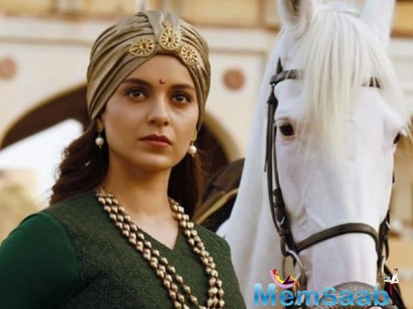 "Ask her how does she feel to act in an epic period movie like The Queen of Jhansi, pat she replies, ""It is very unfortunate that in 12 years of my career, I never got to work in a film like this."