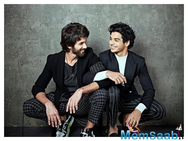 Next episode will witness the double dose of entertainment with Shahid Kapoor and Ishaan Khatter making it to the couch.
