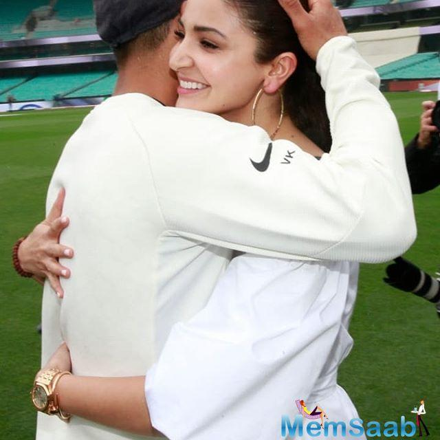 After the conclusion of the post-match proceedings, Anushka took to her Instagram to congratulate the team on their historic win and wrote,