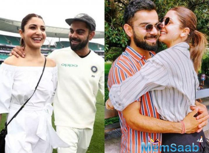Anushka praised her husband Virat Kohli in the post and even claimed that she is proud of him. All of us are! However, her pictures with Virat Kohli from the Sydney ground left everyone starry-eyed.