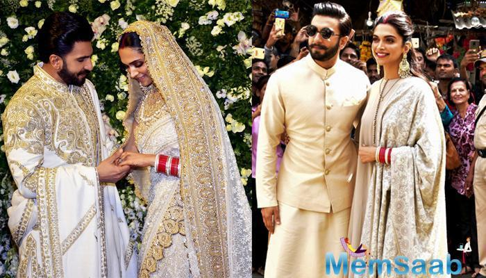 Ranveer Singh and Deepika Padukone have been the hottest topic in the town of late. The duo got married recently, and since then, they have been giving us major couple goals.