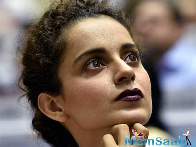 Kangana Ranaut is one of the few actresses who are known always to say her mind. It was no different at the Music launch of Manikarnika, when she was asked about patriotism.