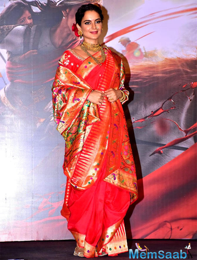 The music of Manikarnika is composed by Shankar-Ehsaan-Loy and it was launched on 9 January with Kangana, Ankita, Prasoon Joshi and Shankar-Ehsaan-Loy attending the event.