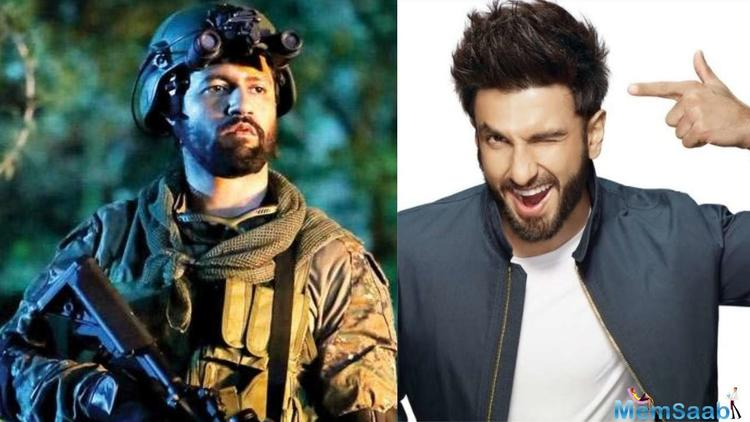 Vicky Kaushal starrer URI which is creating immense buzz which has captivated none other than Ranveer Singh.