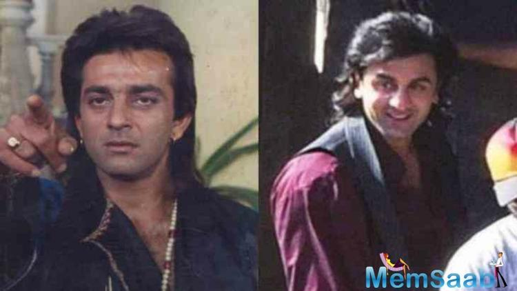 Ranbir Kapoor has grown up watching Sanjay Dutt's films. He has always been mesmerised by Dutt's unique aura. During his teen years, he had a huge poster of his cine idol put up in his room at his Pali Hill home.