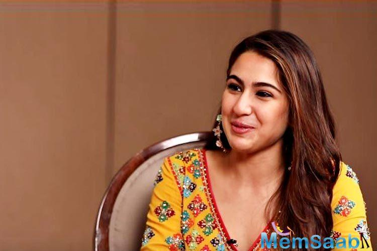 In an interview, Sara Ali Khan was asked about nepotism. The actress said that she is aware she has easy access than those who are not from the film industry.