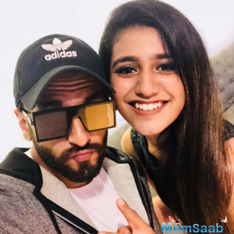Priya Prakash Varrier is having a jolly good time in Mumbai and her latest Instagram stories are proof.