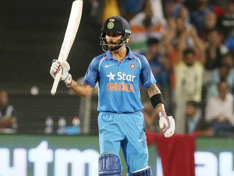 Anushka Sharma took to her Instagram story and shared a cute video of her husband and Indian skipper Virat Kohli after he scored his 39th ODI century in a match against Australia.