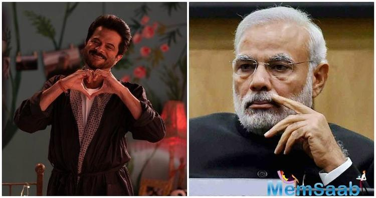 Anil Kapoor met Prime Minister Narendra Modi, and said he was left inspired by their conversation.