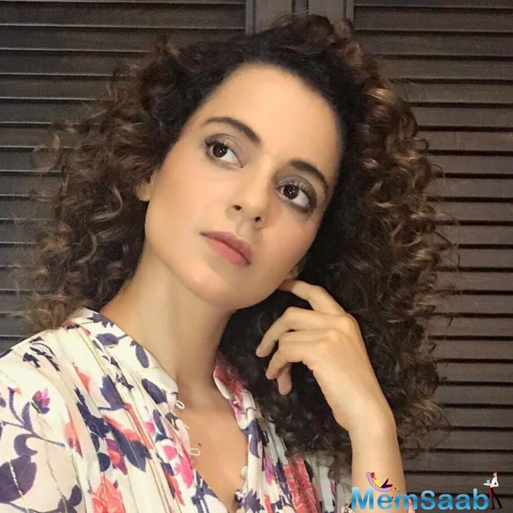 In an interview with us, Kangana Ranaut was asked about working as a director for the film, and she revealed that this is not the first time she worked behind the camera.