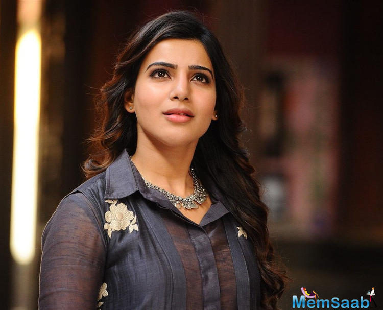 Samantha has shared some of the new looks of her and we are totally tripping over it. The actress can be seen wearing a white ensemble paired with a classy jacket and we are already looking up to this style of hers.