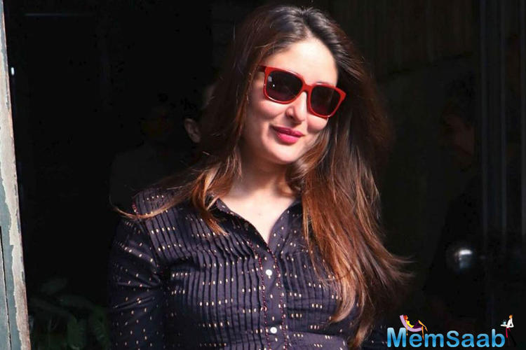 On the work front, Kareena Kapoor Khan will be next seen in Karan Johar's period drama Takth which also features Ranveer Singh, Alia Bhatt, Vicky Kaushal, Bhumi Pednekar, Janhvi Kapoor and Anil Kapoor.