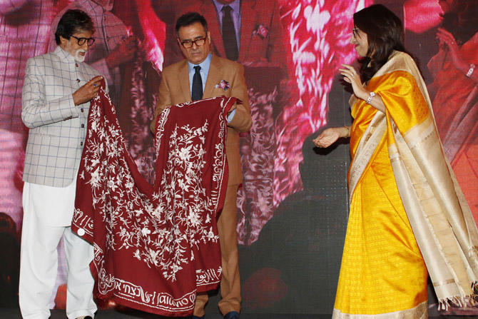 The launch was held in Mumbai and was also attended by Boman Irani's wife Zenobia.
