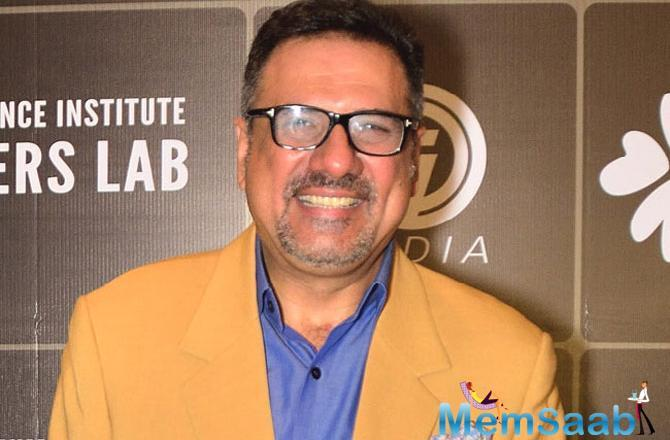 According to producer Sandip Singh, Boman will give the project a