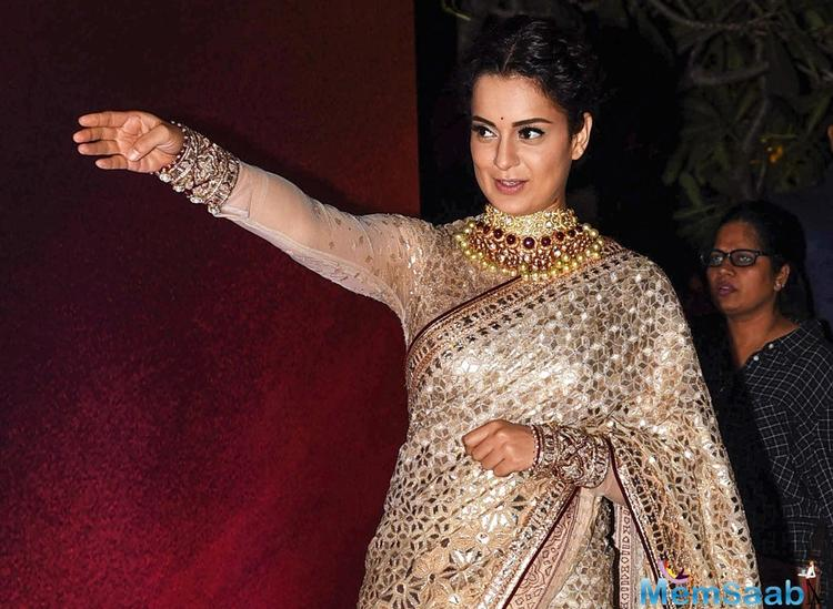 On the big screen, the actress will be seen essaying the role of Rani Laxmibai in Manikarnika: The Queen of Jhansi.