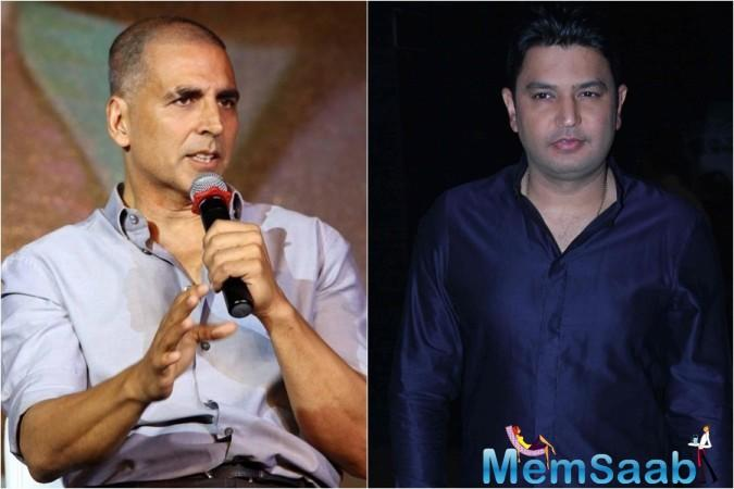 A while ago Akshay Kumar and Bhushan Kumar were on great terms.