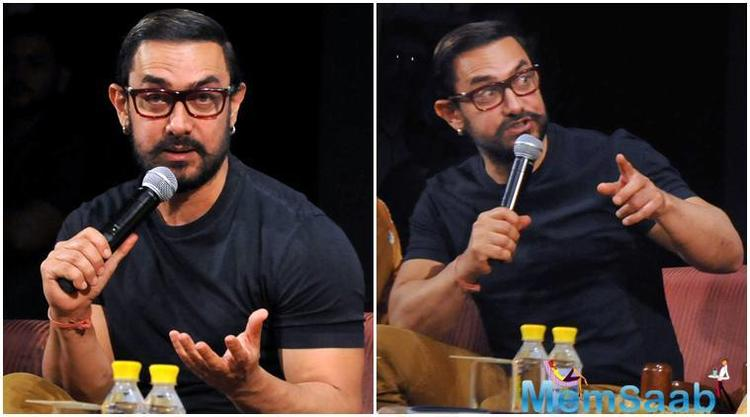 After giving one hit after another for years and earning the title of 'perfectionist', Aamir Khan had a flop late last year with Thugs of Hindustan.