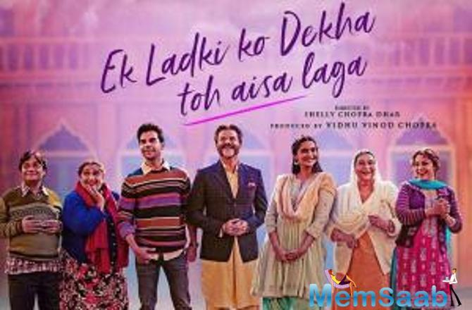 Recently, the makers of Ek Ladki Ko Dekha Toh Aisa Laga launched the second trailer in a unique way. For the first time ever a film opted for a LIVE installation in order to convey the bold message of the film.