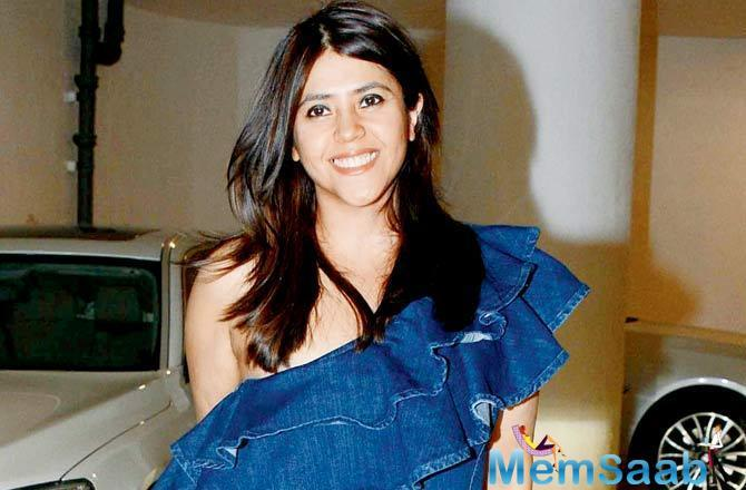 Ekta Kapoor's close friend filmmaker Sanjay Gupta also shared best wishes to her by tweeting,