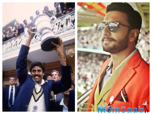 Ranveer Singh, who is currently busy with the promotion of Gully Boy, next will be seen in Kabir Khan's 83 and we hear that the actor will be shooting at the iconic Lords cricket stadium in England.
