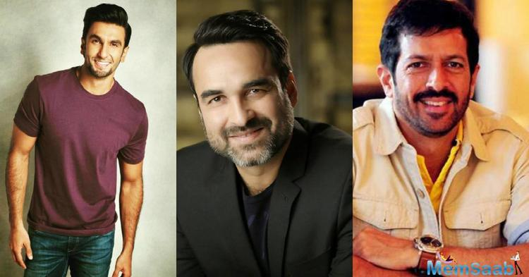 Pankaj Tripathi will play PR Man Singh, the team's manager in Kabir Khan's biographical drama, 83, based on India's 1983 cricket World Cup victory, produced by Madhu Mantena, Vishnu Induri and Kabir Khan.