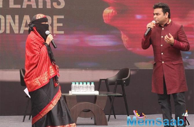 His daughter had shared the stage with him during the event. Khatija wore a black saree and her face was covered in a niqab with only her eyes visible. Photographs from the event led a section of social media users to raise questions.