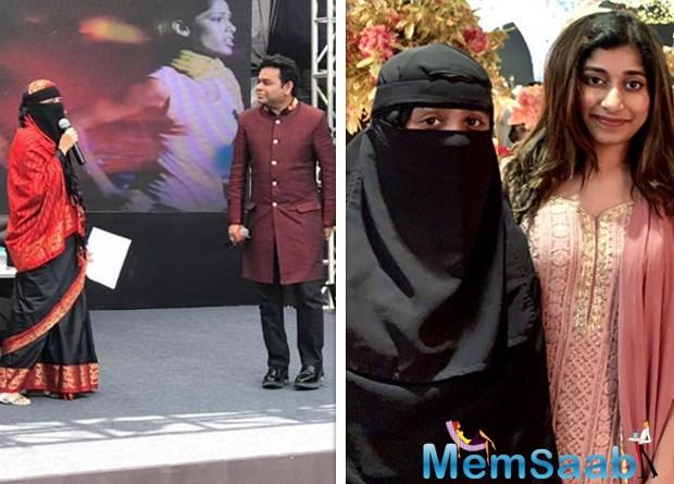 Oscar-winning Indian music composer A.R. Rahman, who was trolled on social media as his daughter Khatija wore a niqab at an event in Mumbai, defended her