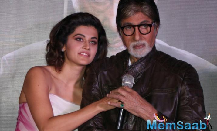 Badla marks the second collaboration between Amitabh Bachchan and Taapsee Pannu. Previously the actors have worked together in the 2016's PINK. The film has been shot in various locations across the UK.