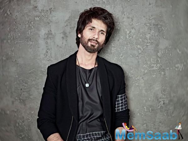 Arjun Reddy, starring Vijay Deverakonda, was released in 2017. Shahid said 70 per cent of the shoot has already been completed, adding that