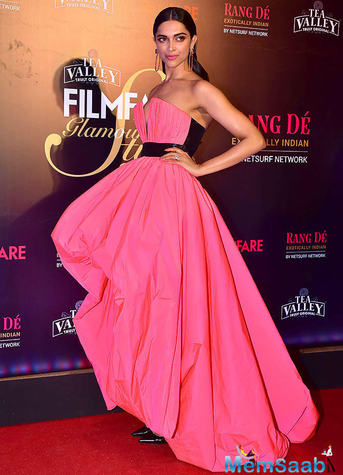Deepika commands the title of being of being the most commercially viable actress in the industry, in addition to being the highest paid actress.